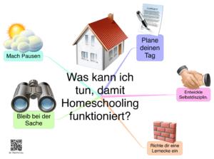 Was kann ich tun, damit Homeschooling funktioniert?